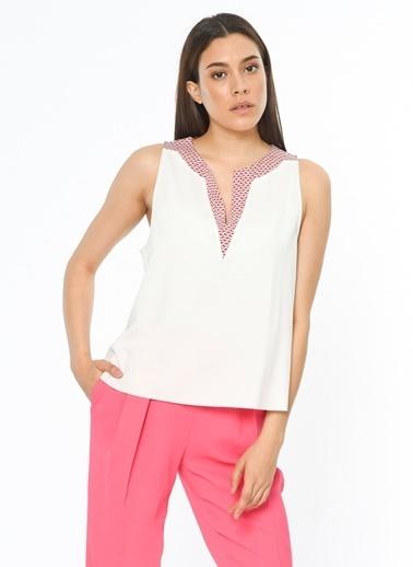 Mink Pink Bluz Beyaz